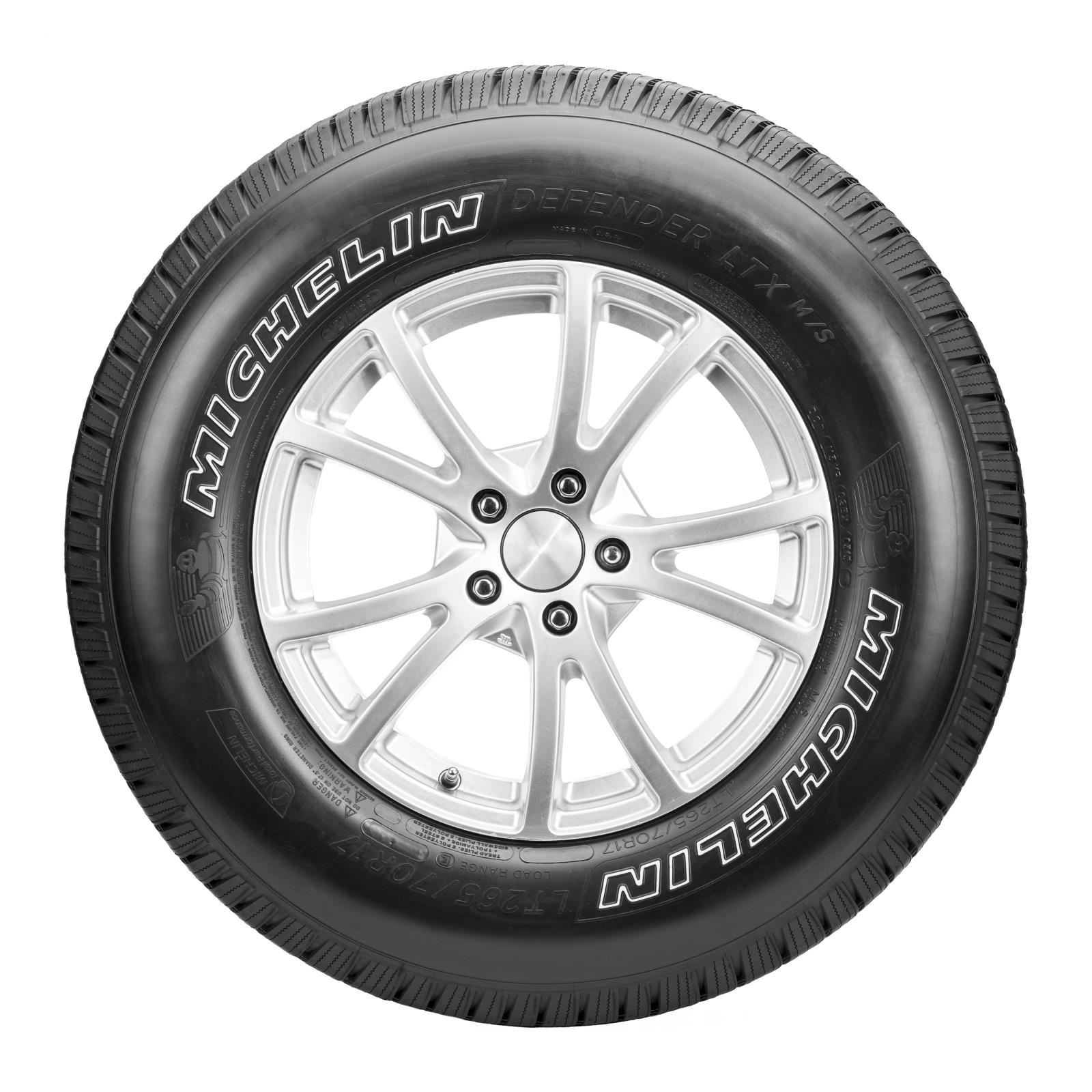 michelin defender ltx m s delivers strong long lasting tire for light trucks and suvs. Black Bedroom Furniture Sets. Home Design Ideas