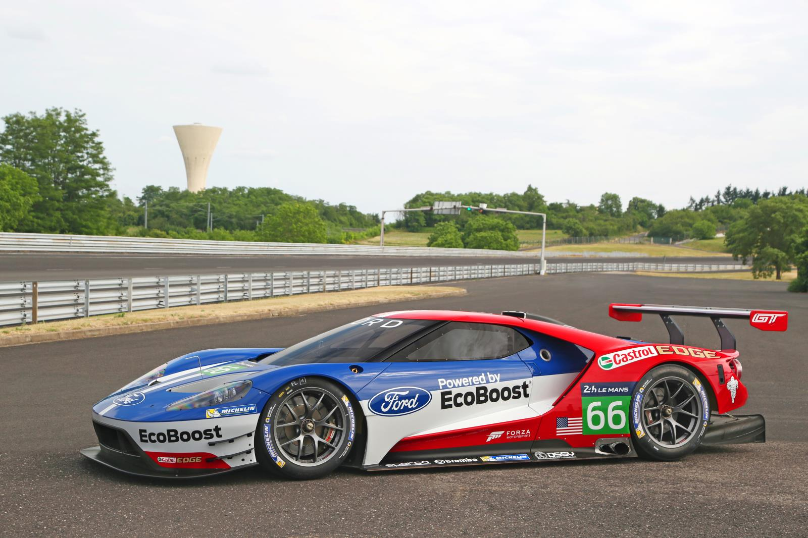 Michelin teams with Ford GT for Le Mans