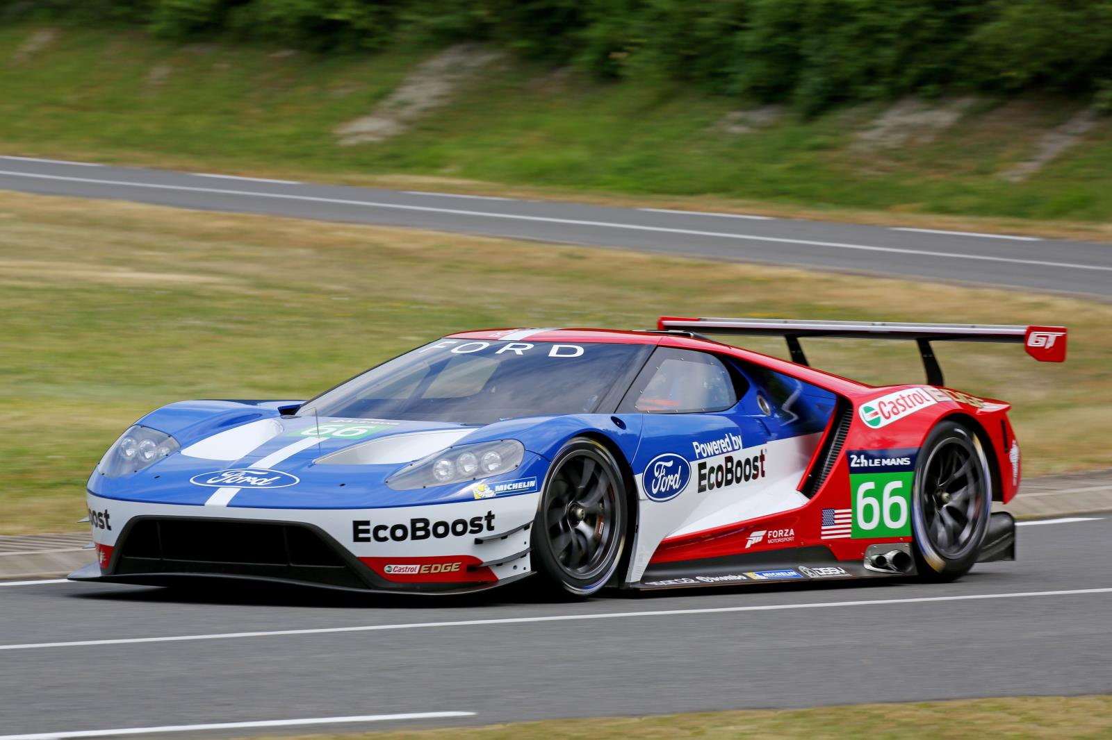 michelin teams with ford gt for le mans. Black Bedroom Furniture Sets. Home Design Ideas
