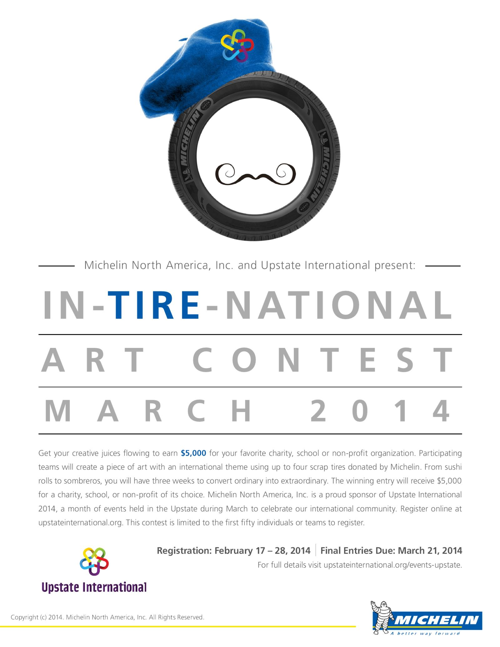 InTireNational Art Contest graphic