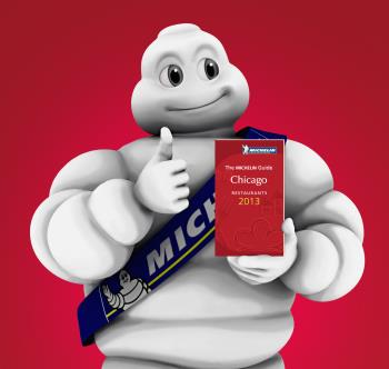 Michelin Man Chicago Red Guide