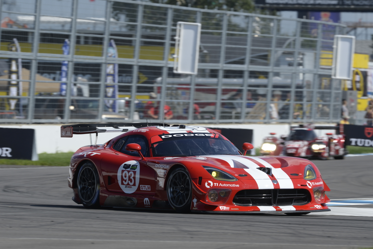 michelin delivers for dodge viper at indianapolis brickyard grand prix. Black Bedroom Furniture Sets. Home Design Ideas