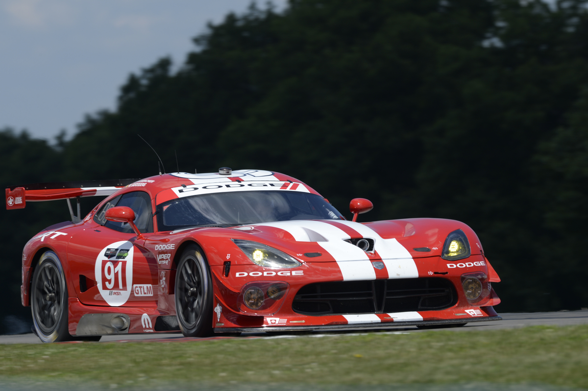 Viper for Michelinmedia pre race