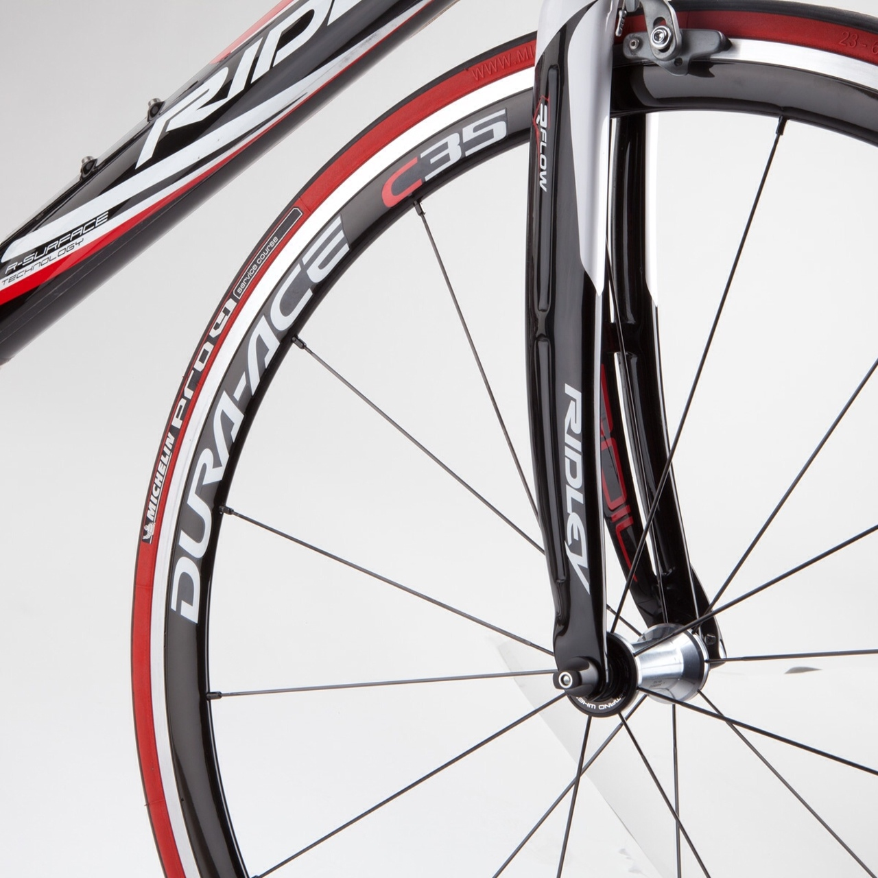 how to get a new bicycle tire off